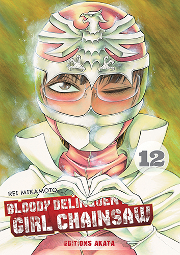 Bloody Delinquent Girl Chainsaw T.12