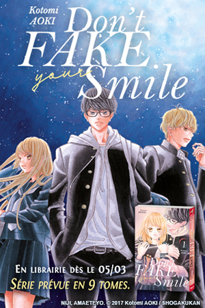Don't fake smile manga