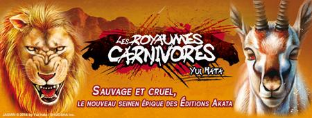 Les royaumes carnivores sur akazoom