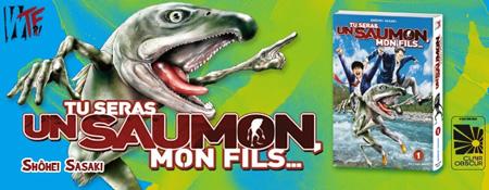 Tu seras un saumon, mon fils - Un extrait en ligne