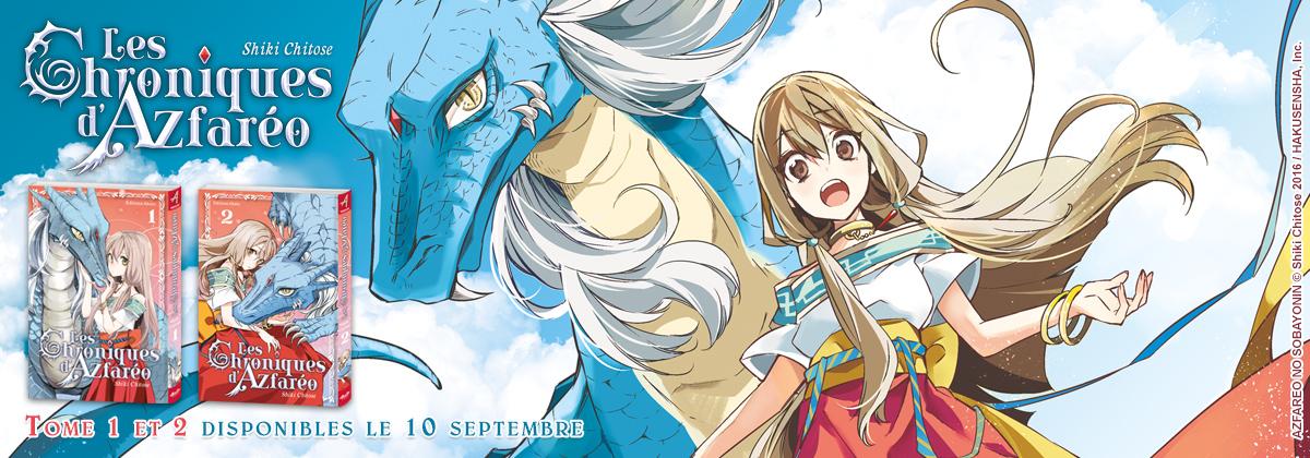 Azfareo extrait du manga