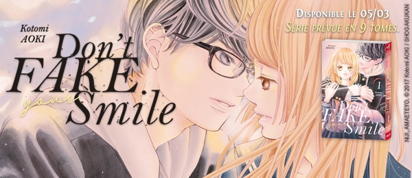 Don't fake your smile - manga extraits