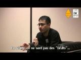 Angoulême 2011 - débat sur la traduction des mangas - intervention de Naoyuki Ochiai