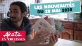 Présentation des news du 28 mai 2020 #AkataEnCoulisses